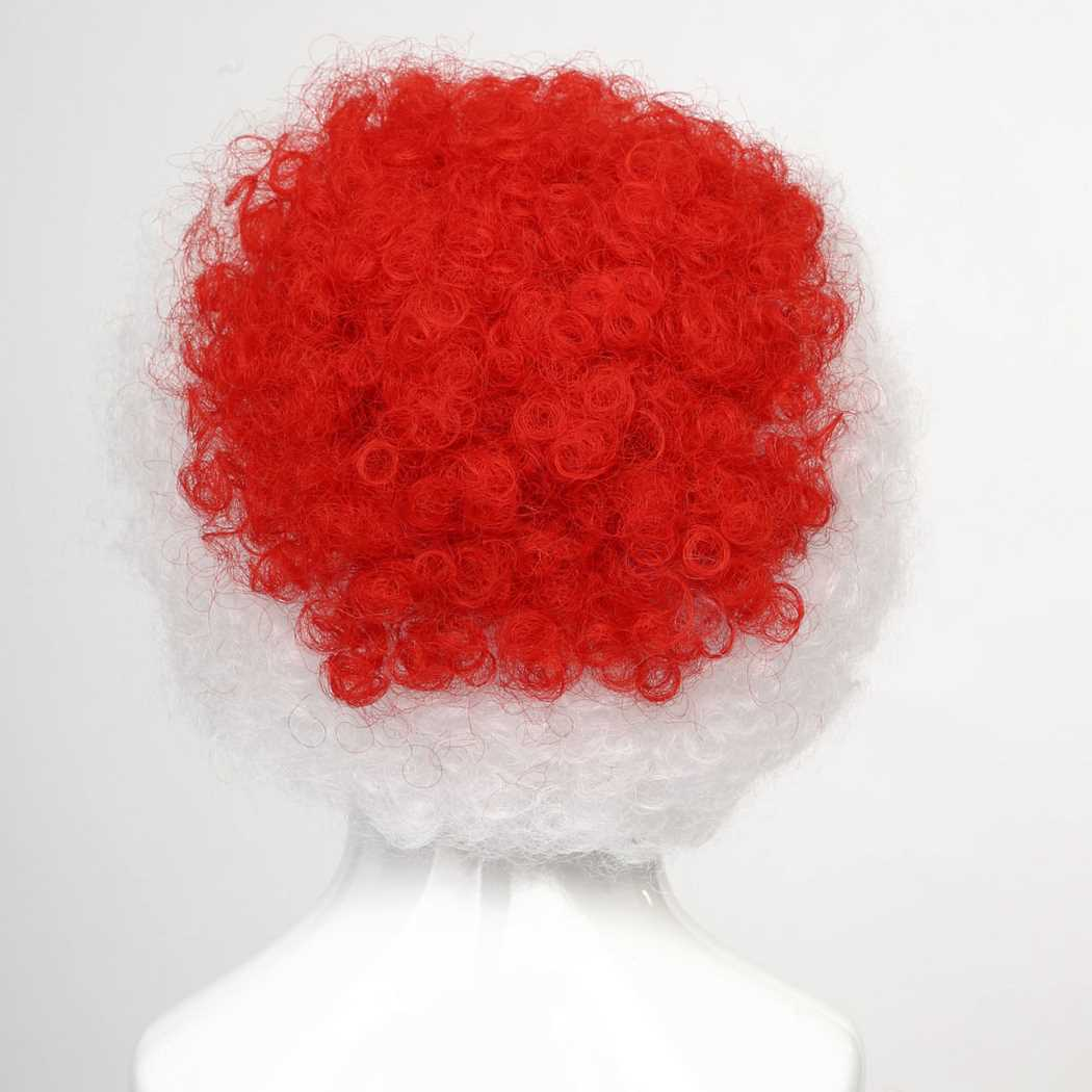 flagwigs, football wigs, fan wigs, afro wigs, mullet wigs, bob wigs, euro wigs,  premier league wigs,Japan Afro Wig