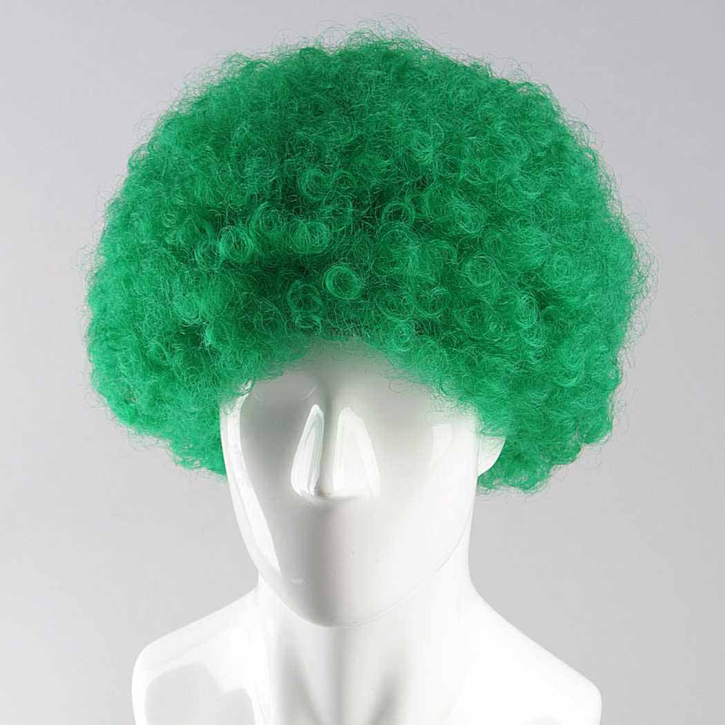 Green Afro Wig e003ad460dc9