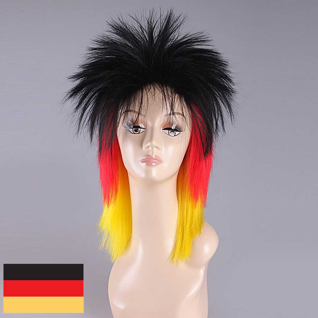 Germany Mullet Wig 55a689032d01