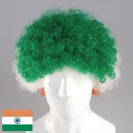 flagwigs, football wigs, fan wigs, afro wigs, mullet wigs, bob wigs, euro wigs,  premier league wigs,India Afro Wig