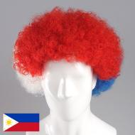 flagwigs, football wigs, fan wigs, afro wigs, mullet wigs, bob wigs, euro wigs,  premier league wigs,Philippines Afro Wig